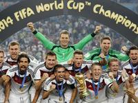 巴西世界杯德国队进球秀 德意志战车狂轰18球