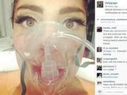 Gaga因高原反应住院 生病不忘自拍