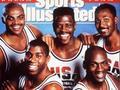 人人分享-【乔丹&魔术师表演时刻!梦一92年劲爆集锦】美国梦一队成名于1992年巴塞罗那奥运会,由乔丹、约翰逊、巴克利等成员。