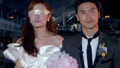 田亮夫妇水上跳台二次婚礼 王志飞浪漫婚礼惨遭大雨