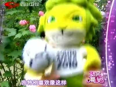《窈窕蜀女》20121228:男嘉宾现场表演东北秧歌
