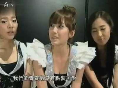 少女时代日本秀歌舞 团员感情深厚