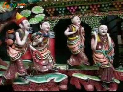 藏传佛教圣地塔尔寺元宵节酥油花展