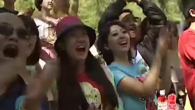 李泽阳闯关成功 太行山大峡谷