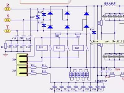 西门子变频器主电路图原理与维修方法讲解(一)