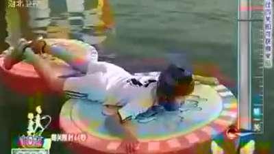 康艺楠成功闯关