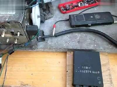 摩托车川崎zzr400点火器检测