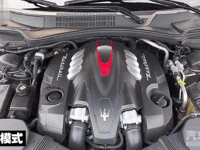 玛莎拉蒂总裁3.8t 发动机排气声浪展示