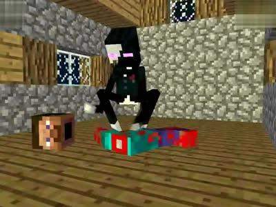 我的世界 爆笑动画 怪物 学校 之万圣节 minecra图片