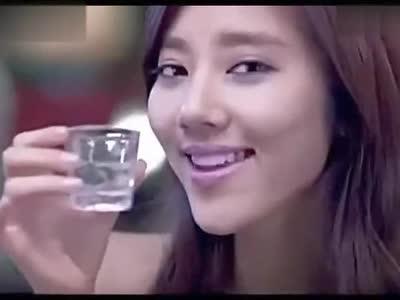 韩国烧酒搞笑广告高清版【美女热舞搞笑微电影】