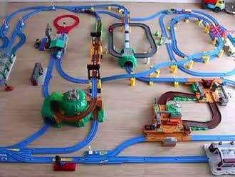 托马斯饭店玩具_儿童玩具托马斯火车图纸火车系统新风图片