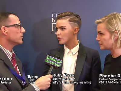 Ruby Rose & Phoebe Dahl talk Same-sex mar