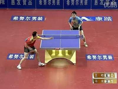 乒乓球实战教学视频