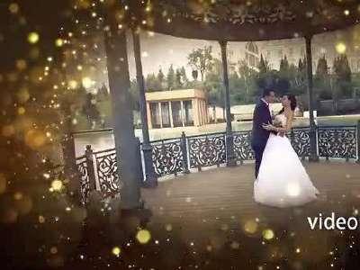 高端欧式婚礼ae片头模板