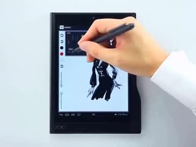 e人e本原笔迹手写商务平板电脑教学视频:【手绘】