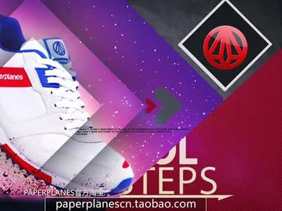 paperplanes韩国纸飞机运动鞋