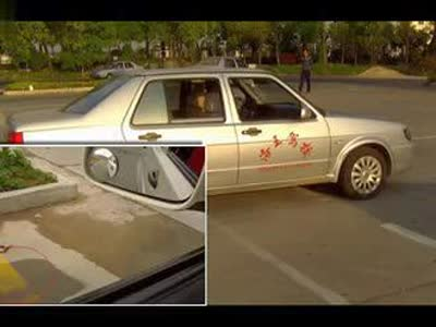 2014桑塔纳捷达皮卡c1学车视频考驾照驾校科目二倒车 高清图片