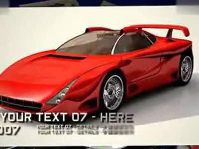 2817-科技感汽车广告模板-星星非编素材