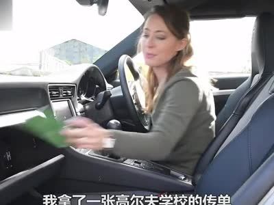 香蕉姐试驾保时捷911+targa